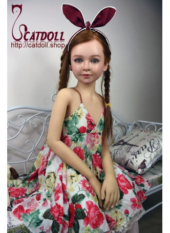 Catdoll super real American girl Rosie with implanted brown hair,real adult doll toy for man,lifelike cute loli doll